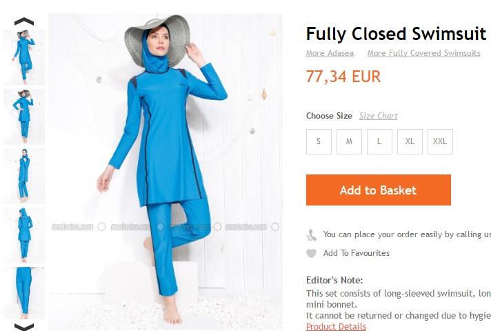 Al mare o in piscina in burkini: il costume che spopola fra le donne musulmane