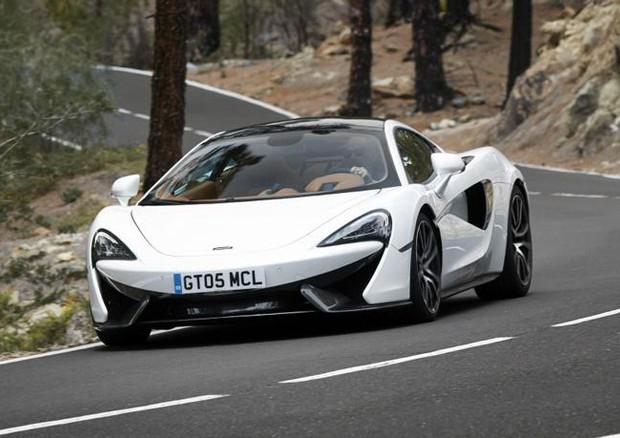 McLaren: ecco la speciale 570 GT Concept MSO