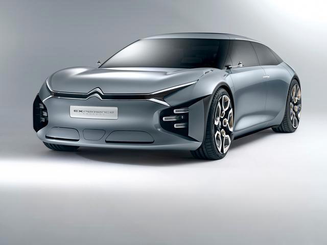 La Citroen presenta a Parigi la spettacolare concept CXPerience