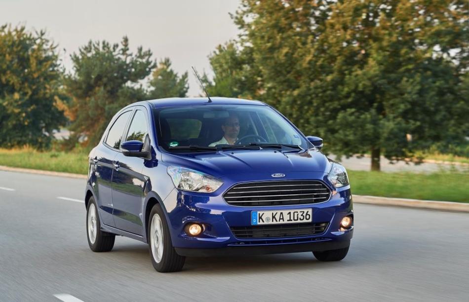 La Ford lancia in Europa una speciale KA+
