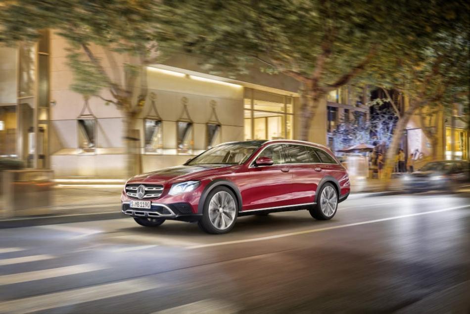 Mercedes-Benz: ecco la nuova Classe E All Terrain