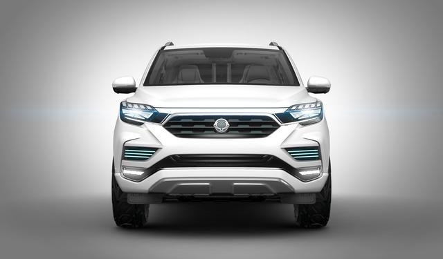 Liv2, il SUV moderno secondo la SsanGyong