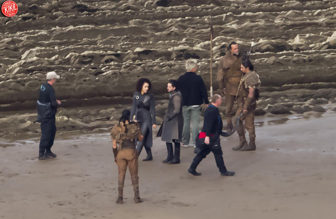 Il Trono di Spade 7: le prime scene rubate sul set
