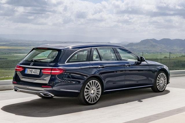 Mercedes-Benz: ecco la nuova Classe E station wagon