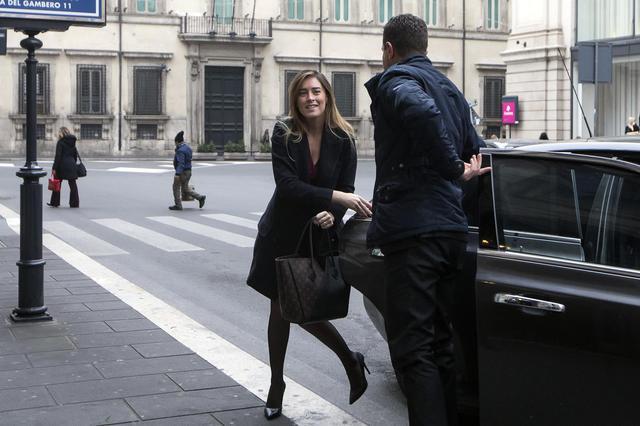 La Boschi ritrova il sorriso dopo lo shock elettorale