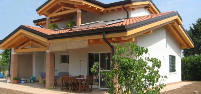 Case di legno di lusso case in legno bisignano for Ville di legno di lusso