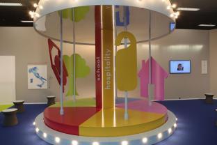 Carousel for Life: architettura colorata e sicura a misura di bambini