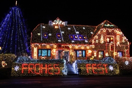 In germania le case si illuminano per le feste di natale tiscali notizie - Casa in germania ...