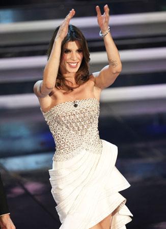 Sanremo 2012: Elisabetta Canalis e Belen Rodriguez ...