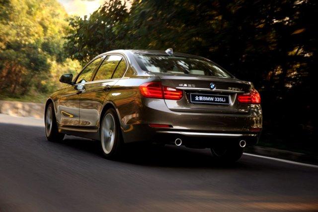 BMW Serie 3 Li, il lusso per la Cina