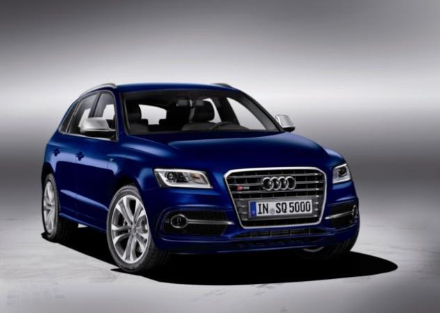 Audi SQ5 TDI con motore Diesel V6 biturbo 313 CV
