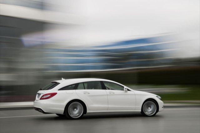 Mercedes-Benz CLS Shooting Brake, sportiva cinque porte