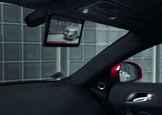 Audi, lo specchio retrovisore digitale