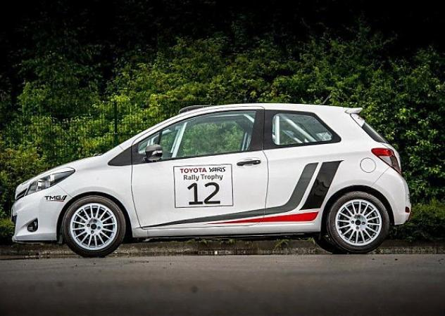 Toyota Yaris R1A, a tutto Rally