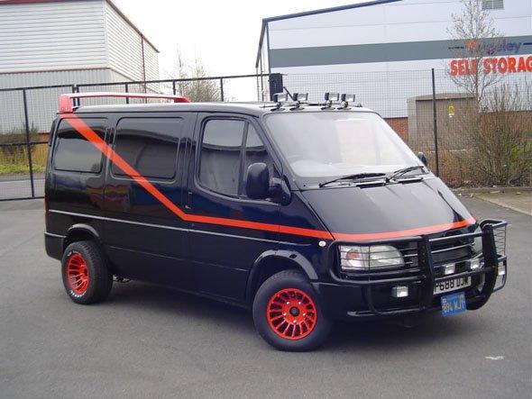 A-Team, quando un furgone diventa leggenda